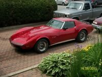 price reduced 1974 L82 STINGRAY---- has to go - make an offer