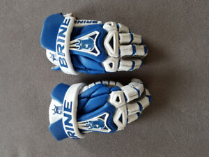 Brine youth lacrosse gloves