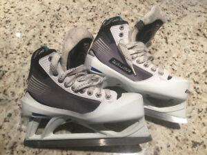Bauer Reactor 4000 Goalie Skates - size 6.5 D - $70