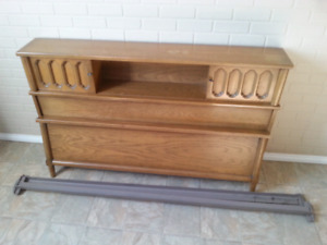 Solid Mahogany hardwood quality double bed frame GUC