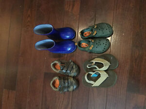 Toddler Boy Shoes -  $3 each