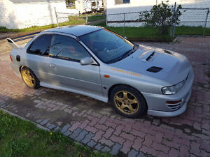 1998 Subaru WRX STI Coupe (2 door) RHD