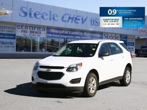 2016 CHEVROLET EQUINOX One Owner w/Low Mileage and 0.9% Financin