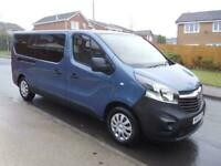 2019/19 VAUXHALL VIVARO CDTI LWB WHEELCHAIR ACCESS,CAMPER? ONLY 1800 MILES