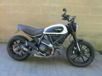 2016 (66) DUCATI SCRAMBLER ICON 803cc + £1000 WORTH OF EXTRA'S FITTED