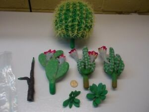 Artificial Plastic Cactus Plants  - Like new