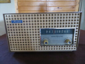 RADIO GENERAL ELECTRIC MUSAPHONIC ANTIQUE ANCIEN