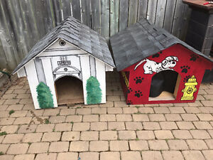 2 Dog houses for sale 125 each OBO