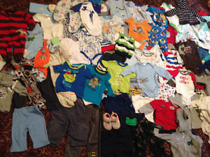 Baby Boy Clothing (0-12 months