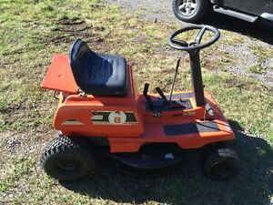 Project Ride on Lawn Mower