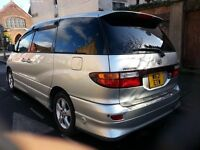 Toyota Previa / Estima Fitted LPG System, 2.4 AUTOMATIC - LOVELY CONDITION. 4 PARKING SENSORS