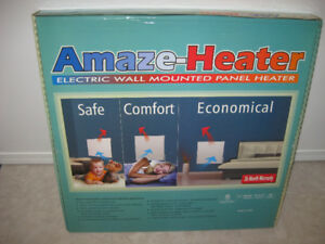 """NEW"" Amaze-Heater 400SS Electric wall mounted panel heater"