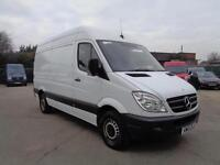 MERCEDES-BENZ SPRINTER 2.1 TD | 313 - CDi | MWB - HIGH ROOF | 1 OWNER | 2013