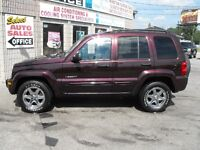 A MUST SEE !!  2004 LIBERTY LTD-CHROMES-LEATHER-SUNROOF..SALE