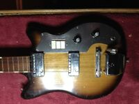 Teisco 6 string project guitar 1964ish (TRADE?)