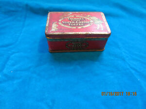 Antique early XX century Super Tofee tin
