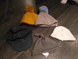 Baby boy hat bundle 0-3 Months