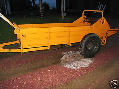 Minneapolis Moline Ls-300 Manure Spreader