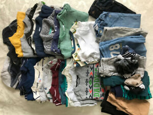 Set of boys clothes tops pants sweatshirts etc 18-24 mth 31pc