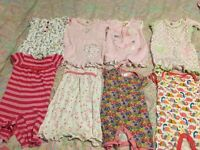 Baby girls rompers 3-6 and 6-9 months