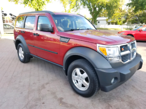 *2007 DODGE NITRO SXT 4X4 , 6 MONTH WARRANTY & INSPECTION INC*