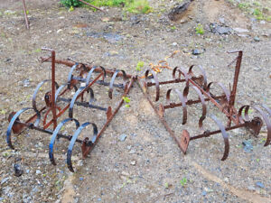 Spring Tooth Harrow for Atv or tractor. Ground preparation Lawn.