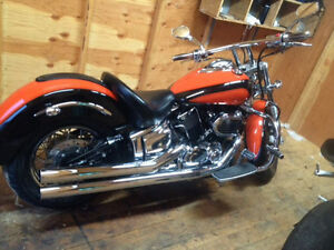 2002 Yamaha V Star 1100, Customized
