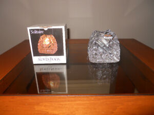 NEW - Crystal Candle Holder - Kosta Boda