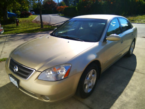2002 Nissan Altima 2.5S for sale