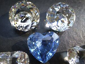Swarovski Crystal Hearts and SCS Paper Weights Kitchener / Waterloo Kitchener Area image 3