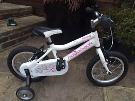 """Girls bicycle Ridgeback Honey 14"""" training Wheels Near Mint n19 Delivery Options Ideal for 3+"""