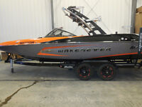 "2014 Malibu Wakesetter 22 MXZ - SURF GATES ""409"" only 79 hours!"