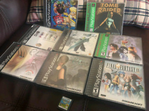 PS1 Video Games