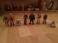 Extremely rare collectable Star Wars figures