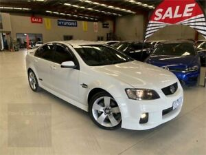2011 Holden Commodore VE II SS White 6 Speed Sports Automatic Sedan