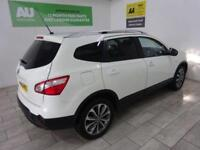 WHITE NISSAN QASHQAI+2 1.5 TEKNA PLUS 2 DCI ***FROM £247 PER MONTH***