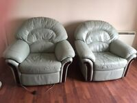 2 Reclining Arm Chairs For Sale