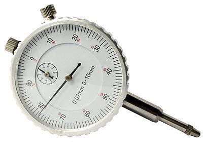 Messuhr Messgerät Messbereich 0.01/0-10mm Analog für Magnet Messstativ  P108