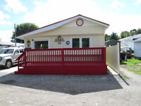 Two Bedroom Mobile Home  Root River Trailer Park Sault Ste Marie
