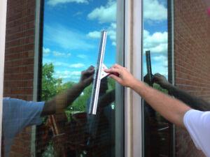 Lavage de vitres intérieur et extérieur