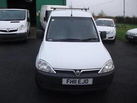NO VAT White Vauxhall Combo 1.3 FSH MOT CL Roof Rack Ormskirk