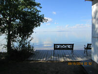 Michel Lodge at Michel Point on Dore Lake .