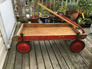 Vintage Red Wagon!