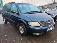2003/03 Chrysler Grand Voyager 2.5CRD LX LONG MOT EXCELLENT RUNNER