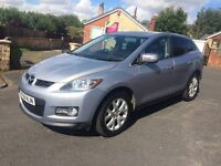 2009 Mazda CX-7 2.3 turbo 4x4 . 260bhp MPS. Tow bar luxury car . Spares or repairs