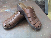 Full leather uppers - lady's 8 - hardly worn