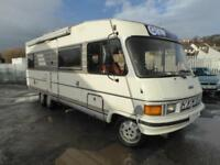 Hymer B694 A Class 5 berth rear lounge motorhome for sale Ref: 13037