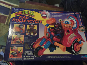 1986 Madballs Rollercycle with box and poster... Kingston Kingston Area image 1