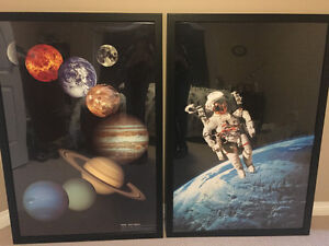 Space-themed prints