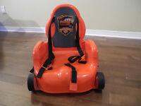 Chaise booster flash mcqueen